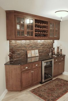 This would be a great basement bar area..
