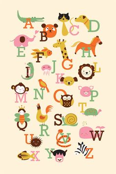 Animal A to Z by Twinkle Arts