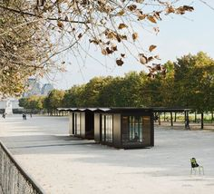 Kiosque - Picture gallery #architecture #interiordesign #prefab