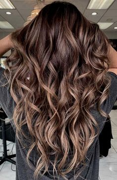51 Gorgeous Hair Color Worth To Try This Season - Fabmood Wedding Colors Wedding Themes Wedding color palettes Blonde Balayage Highlights, Brown Hair Balayage, Balayage Brunette, Hair Color Balayage, Highlights Dark Brown Hair, Brown Balyage, Carmel Brown Hair, Brunette Hair Color With Highlights, Carmel Balayage