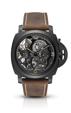 Lo Scienziato - Luminor 1950 Tourbillon GMT Ceramica PAM00528 - Kollektion 2013 - Uhren Officine Panerai