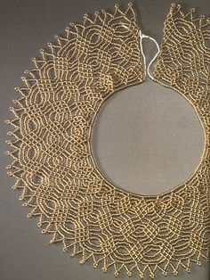 Necklace of gold beads - 1