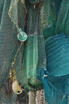 Shrimp nets on the dock in Brunswick, Georgia #South #Southern #shrimping