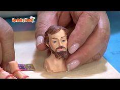 Aprenda y Venda - Figura San José - YouTube San Jose, Christmas Projects, Christmas Decorations, Make It Yourself, Pasta, Youtube, House, Ideas, Crafts