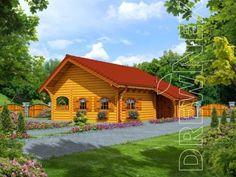 Jaskółka II - Domy drewniane letniskowe - DREWNEX Home Fashion, House Styles, Home Decor, Cabin, Decoration Home, Room Decor, Home Interior Design, Home Decoration, Interior Design
