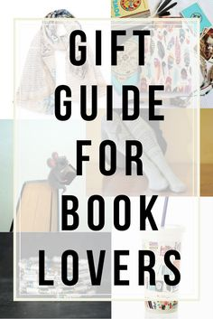 20+ unique gift ideas for book lovers and bookworms!
