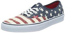 Vans U Authentic, Unisex-Erwachsene Sneakers, Denim Chevron, mehrfarbig (coral/true white), 40 EU - http://on-line-kaufen.de/vans/40-eu-vans-u-authentic-unisex-erwachsene-sneakers-10