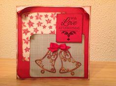Christmas card, bells