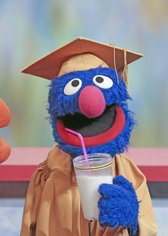 Graduation and Milk and Grover