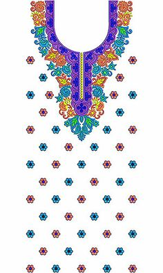 All Times Latest Party Dress Embroidery Design