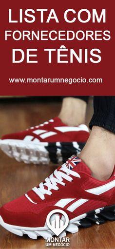 Veja a lista de fornecedores de tênis no atacado! São empresas que fornecem tênis para revenda com preços baixos. #tênis #sapatos #atacado #negocio #montarumnegocio