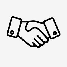 Vector Handshake Icon Vector and PNG Cool Art Drawings, Easy Drawings, Icones Facebook, Whatsapp Png, Tattooed Couples Photography, Logo Instagram, Snapchat Logo, Main Image, Hands Icon