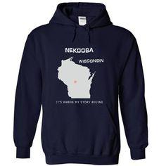 Nekoosa WIS T Shirts, Hoodie Sweatshirts