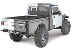 AEV BRUTE Conversion Kit for any Jeep Wrangler TJ (1997-06)