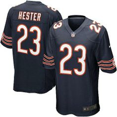 $79.99 Youth Nike Chicago Bears #23 Devin Hester Elite Team Color Blue Jersey