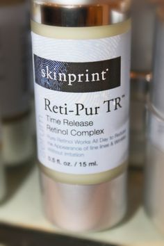 Do Retinols leave you with that all-over red, irritated look? Try Skinprint's newest product — Reti-Pur TR!! It's Time Release Matrix controls the amount of pure retinol that comes in contact with the skin at any given time, reducing the potential for redness.... we ♥♥ it and you will too!! Call Phases Skin Care & Laser Center of Carmel at 317.848.8101 or online at www.phasesskincare.com