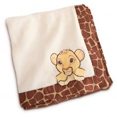 Simba Plush Blanket for Baby - Personalizable Mine will say either Zelda or Donovan on it. Lion King Nursery, Lion King Theme, Lion King Baby, Lion King Simba, 3rd Baby, Baby Boy Nurseries, Baby Rooms, Cute Baby Clothes, Baby Disney