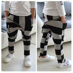 hot selling spring new 2014 brand children kids boys stripe large zipper harem pants cotton overall leggings1 pcs/lot retail-inPants from Apparel & Accessories on Aliexpress.com   Alibaba Group