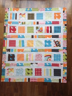 Flowers in the sunshine quilt top | Flickr - Photo Sharing!