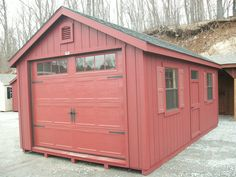 12x20 Classic Cape Garage: In-Stock Sheds, Storage Buildings, Garages, Gazebos: The Barn Yard & Great Country Garages