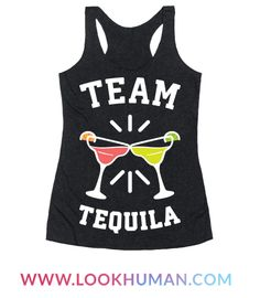 Show everyone what team you're on at the party or fiesta with this 'Team Tequila' partying design. Perfect for drinking with friends, tequila gifts, cinco de mayo, spring break, summer, fiestas, margarita jokes, alcohol humor, partying and tequila lovers!