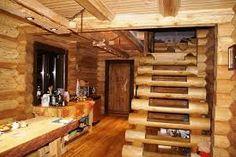 Výsledok vyhľadávania obrázkov pre dopyt лестницы из обрезков бревна