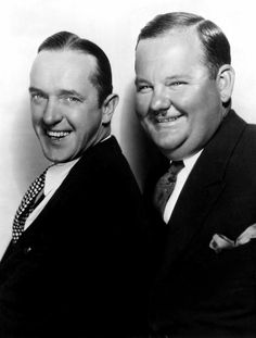 Portraits Photograph - Stan Laurel, Oliver Hardy Laurel & Hardy by Everett Laurel And Hardy, Stan Laurel Oliver Hardy, Golden Age Of Hollywood, Hollywood Stars, Classic Hollywood, Old Hollywood, Great Comedies, Classic Comedies, Classic Films