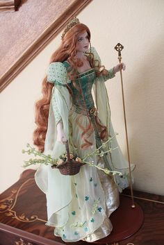 Brianna Princess of Tara Doll Franklin Mint