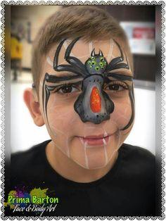 Prima Barton spider Animal Face Paintings, Animal Faces, Spiders, Animals, Animales, Animaux, Spider, Animal, Animais