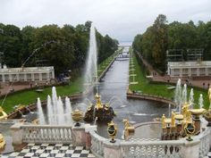 Peterhof Palace in St. Petersburg, Russia. #Europe #NorthernEurope #Excursion
