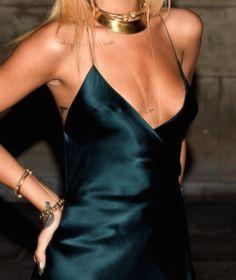 slip dress // LILI CLASPE