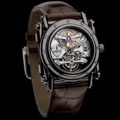 Manufacture Royale Androgyne White Gold Black PVD