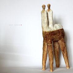 Centaurs /Ceramic Sculptures/Unique Ceramic Figurine