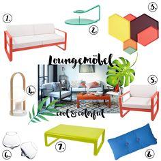 Loungemöbel - 3 Looks für Terrasse und Garten von Design Bestseller