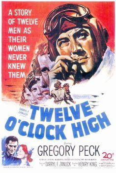Twelve O'Clock High 11x17 Movie Poster (1949)