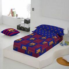 Saco nórdico escudo cuadros FC Barcelona