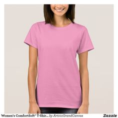 Women's ComfortSoft® T-Shirt 8 color choices DIY