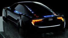 OLED Lamp Covering Body concept By AUDI