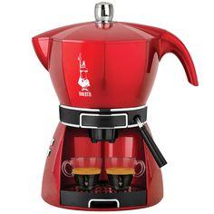 Justmoment BIALETTI MOKISSIMA TRIO MACCHINA CAFFE POLVERE CIALDE CAPSULE  CF43 ROSSA 0ca17696aadd