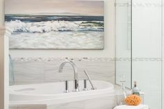Clean, mold-free bathroom