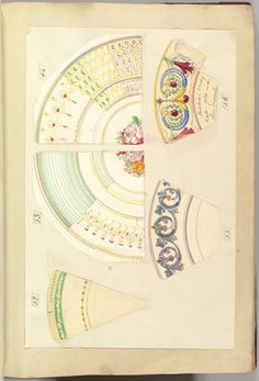 Nine Designs for Decorated Plates, 1845–55 Alfred Henry Forrester [Alfred Crowquill] (British, London 1804–1872 London) Patron: Probably commissioned by Samuel Alcock & Company (British, active ca. 1828–1859) Pen and ink, and watercolor, sheet: 42.5 x 29 cm The Metropolitan Museum of Art, 56.527(16)