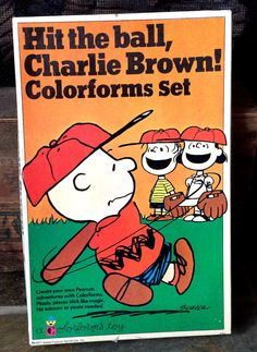 Vintage Antique Estate Hit The Ball Charlie Brown by MADVintology