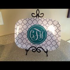 Platter from Southern Bell Boutique!! LOVE!