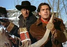 John Wayne and Jeffrey Hunter in The Searchers Girl Actors, Actors & Actresses, Hollywood Stars, Classic Hollywood, Jeffrey Hunter, Wayne Family, Westerns, John Wayne Movies, The Searchers