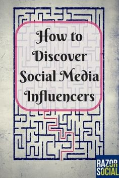 How to discover #socialmedia #influencers: some assumptions and drawn conclusions but worth a read!