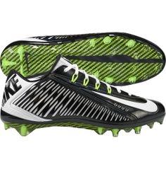 ec7e5aa0d42 Nike Men s Vapor Carbon Elite 2014 TD Football Cleat - Black White