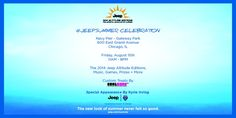 Hang out with Jeep on August 15th at the Pier!