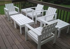 DIY outdoor furniture: honey make the furniture, I will make cushions :)