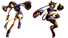 Uriko: Bloody Roar Series. Transform into a half-cat. Easily distracted though just as fierce in combat as the other zoanthropes.