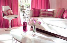 Black  White Living Room on Pink Bedroom Ideas On Modern Pink Living Room Design Gallery Sample